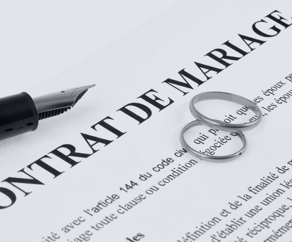 notaire mariage Toulon : aide à la rédaction d'un contrat de mariage