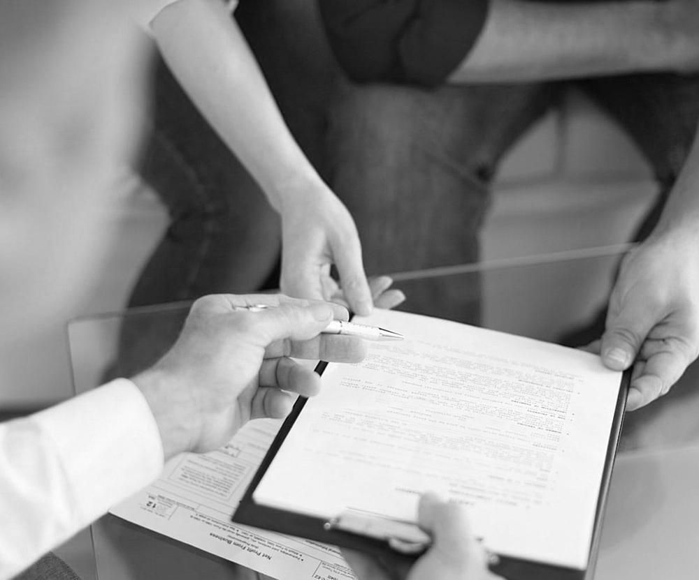 signature vente immobilière et transaction immo